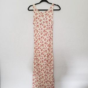 Betsey Johnson Floral Maxi Dress (early 2000's)